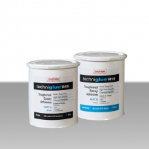 Techniglue R15 - Techniglue R15 is a toughened epoxy paste specifically formulated to overcome the problem of peeling failure at a metal-resin interface and is the idea adhesive for bonding metals, particularly aluminium and steel.